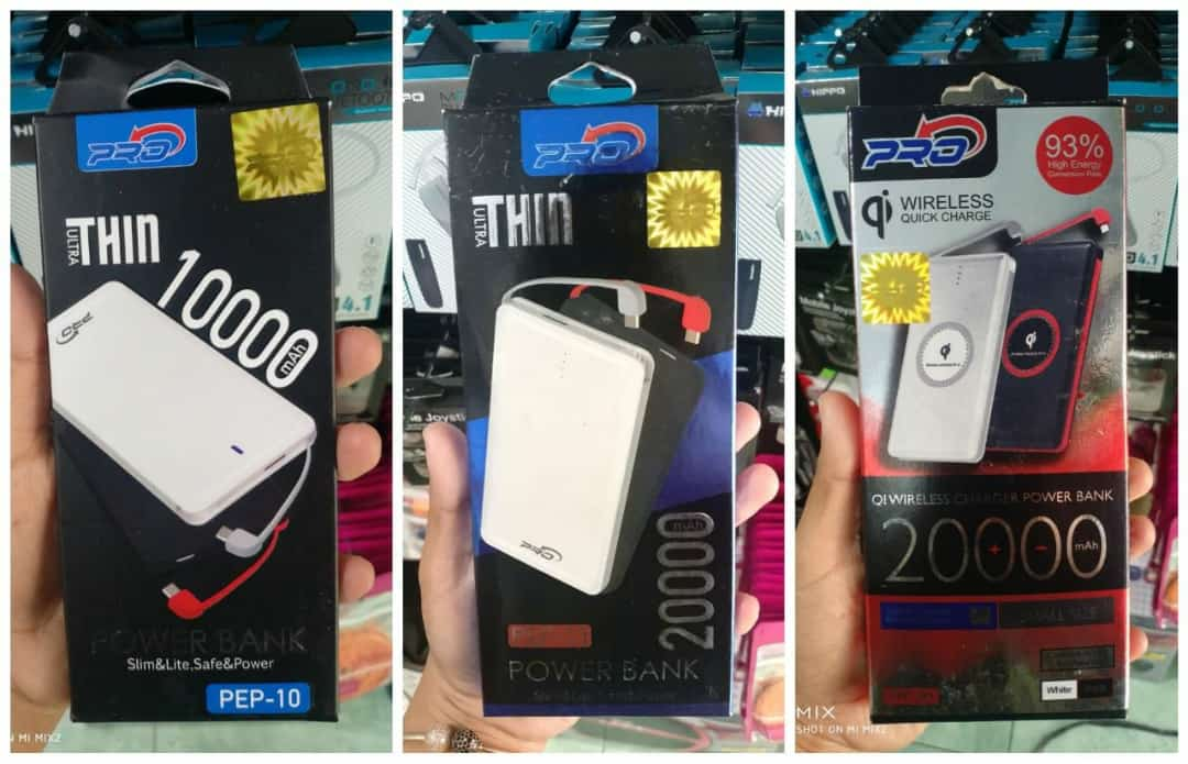 POWER BANK X PRO, SLIM, FAST CHARGING
