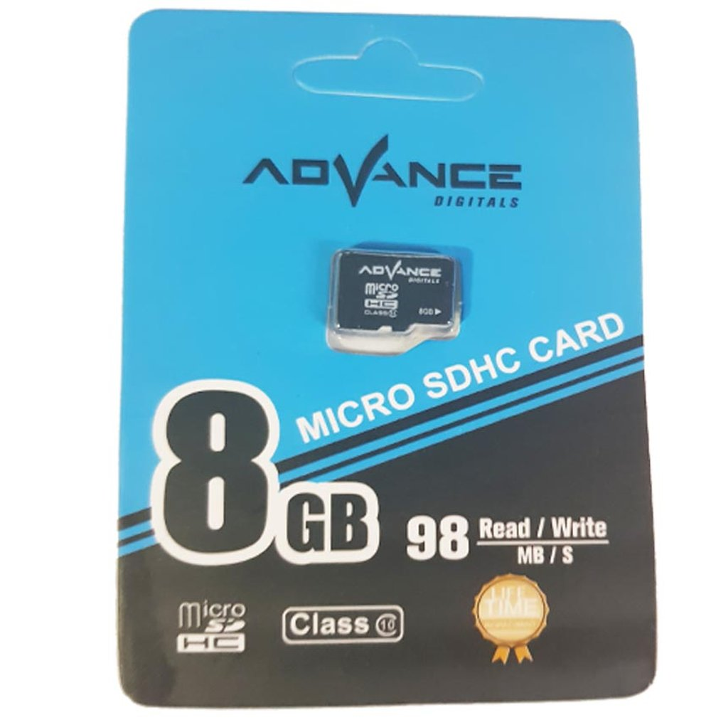 MEMORY ADVANCE 8GB CLASS 10