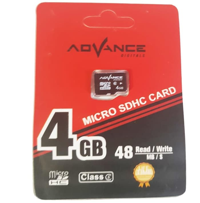 MEMORY ADVANCE 4GB CLASS 10