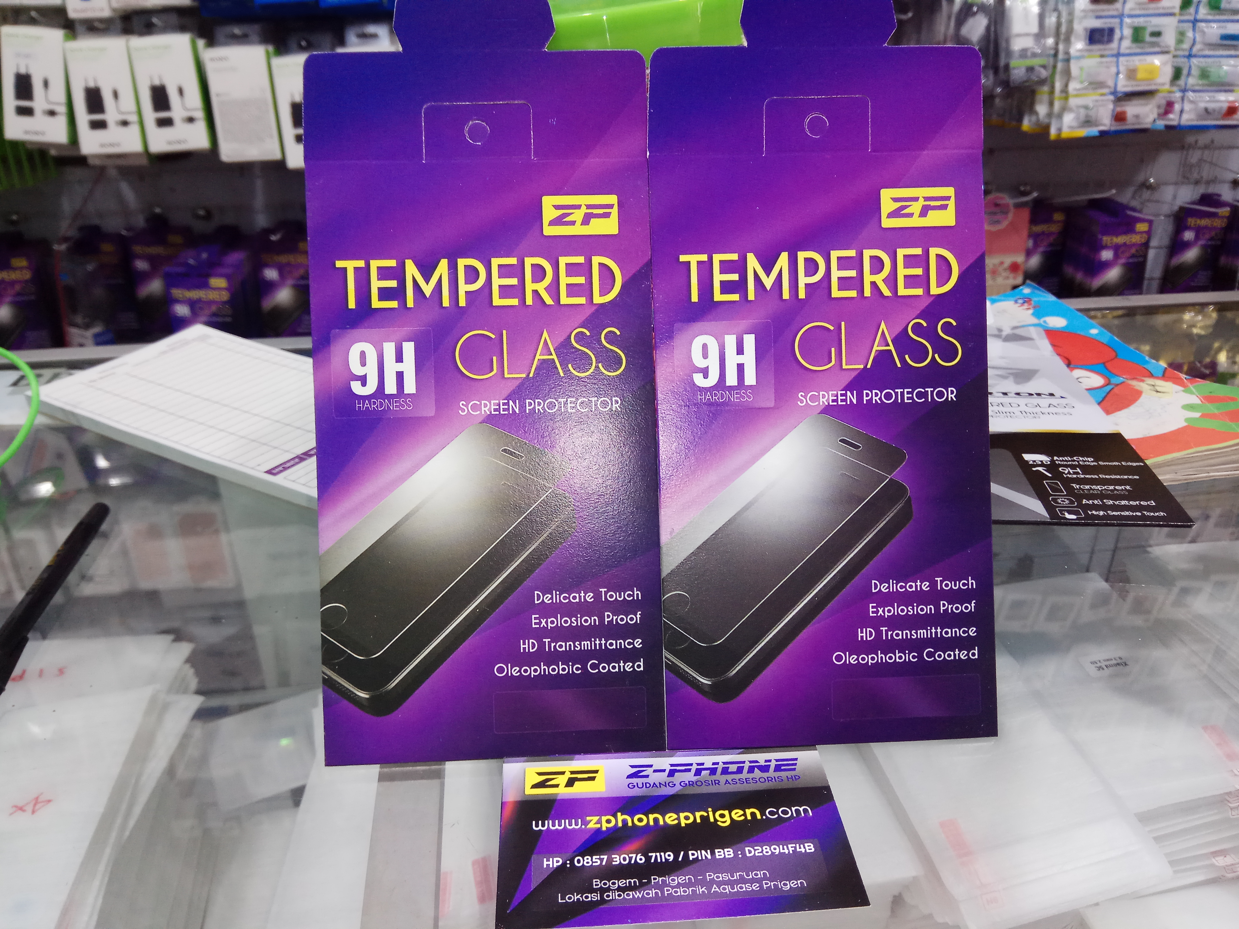 TEMPERED GLASS / ANTI GORES KACA  PACK ZP