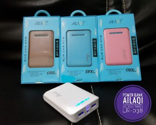POWER BANK AILAQI 10.200 MAH LR 038 OUTPUT 2 USB