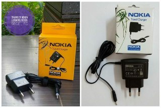 TRAVEL CHARGER NOKIA N95 MODEL BULAT KECIL SEGEL FC