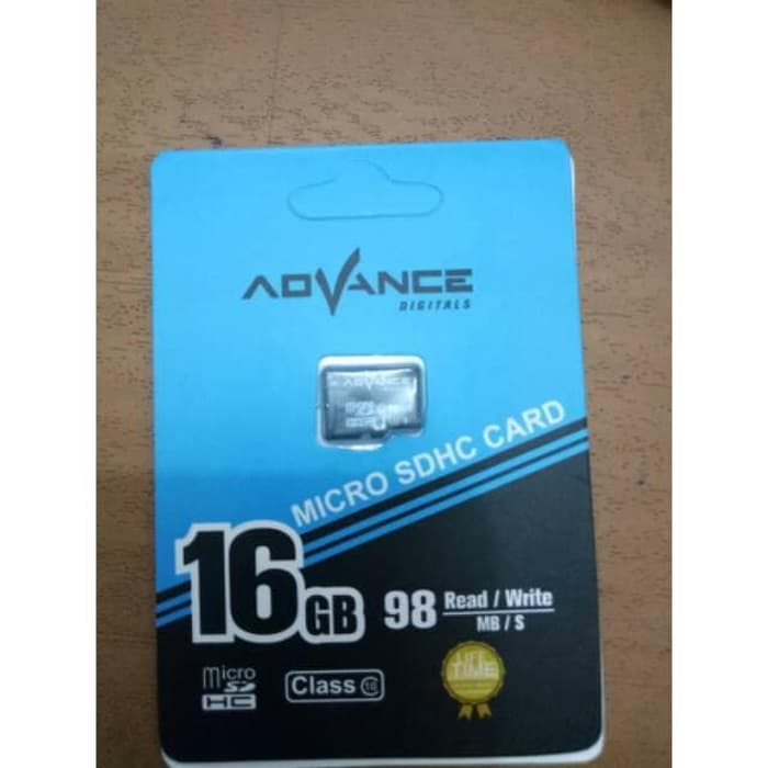 MEMORY ADVANCE 16GB CLASS 10