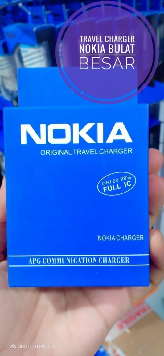 TRAVEL CHARGER NOKIA BULAT BESAR
