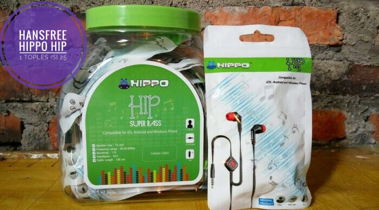 HANSFREE HIPPO HIP PACKING PLASTIK HIPPO 1 TOPLES ISI 25 PCS