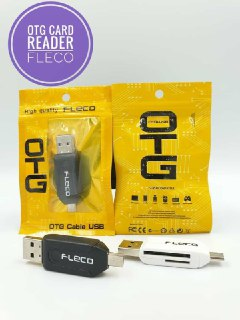 OTG + CARD READER FLECO