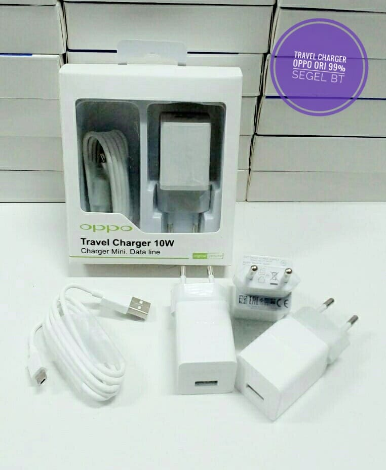 TRAVEL CHARGER OPPO AK903 ORI 99% OUTPUT 2A