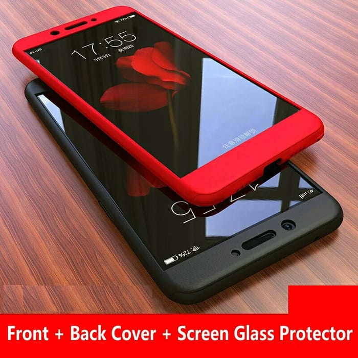 CASE 360 FREE TEMPERED GLASS / FULL COVER