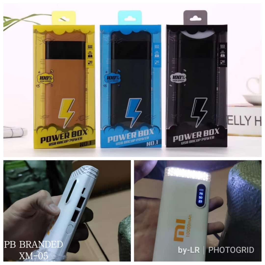 POWERBANK BRAND PACKING MIKA OUTPUT 10.000 + 2 USB