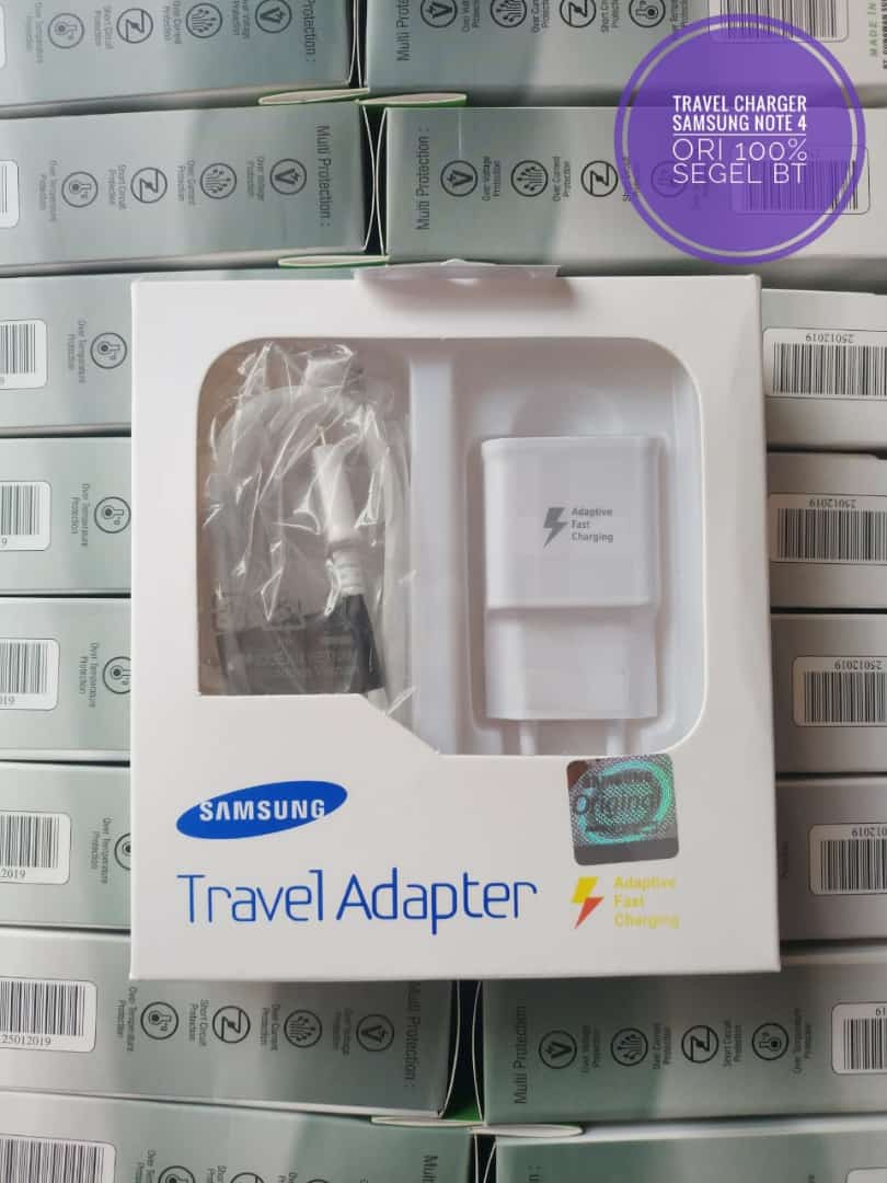 TRAVEL CHARGER SAMSUNG S6 / NOTE 4 ORI 100%