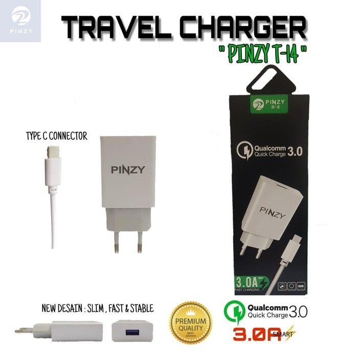 TRAVEL CHARGER PINZY T14