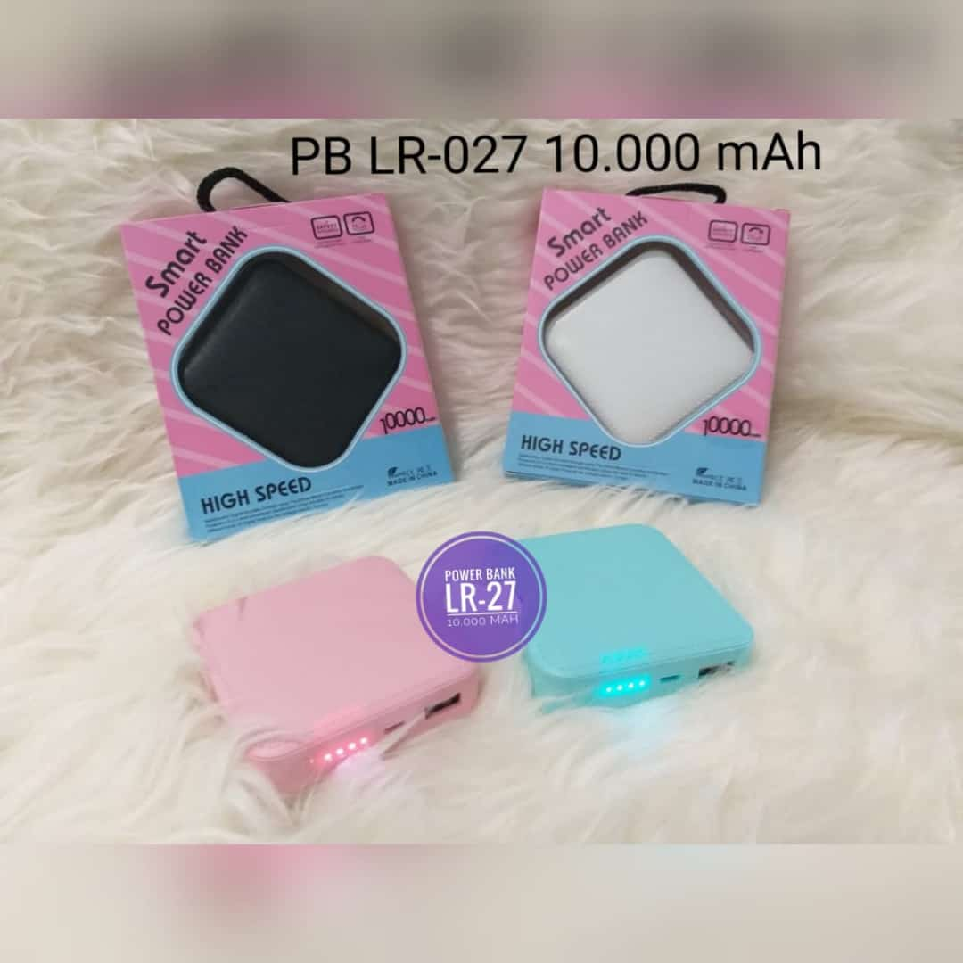 POWER BANK XMY LR-027 10.000 MAH (MDL JGT)