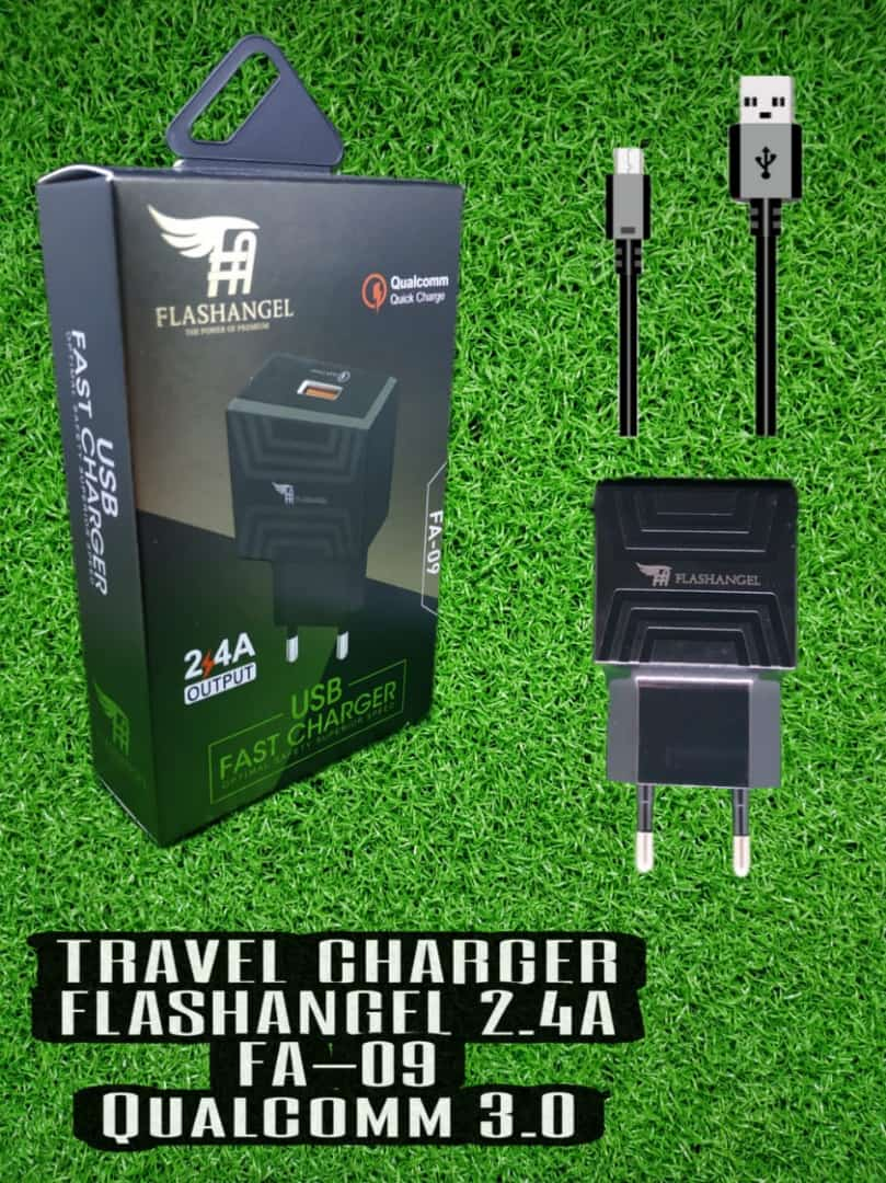 Travel Charger FLASH ANGEL 2.4A FA 09